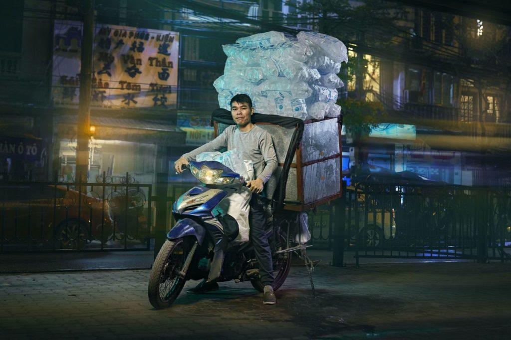 """The Transporter"" im Hanoi-Style"
