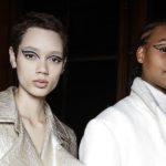 Grafische Augen: Experimentelles Make-up