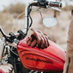 Die Harleys sind auf Tour