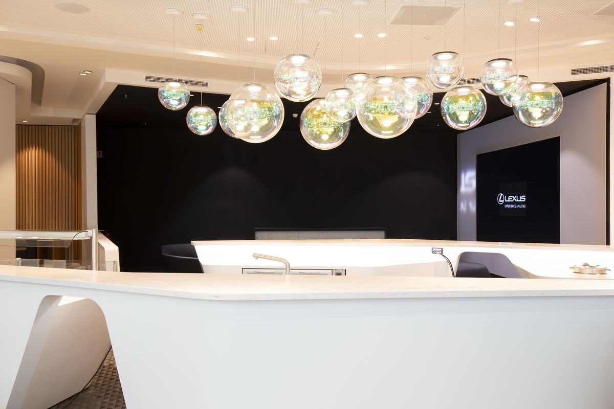 Lexus hat die führende Flughafen-Lounge