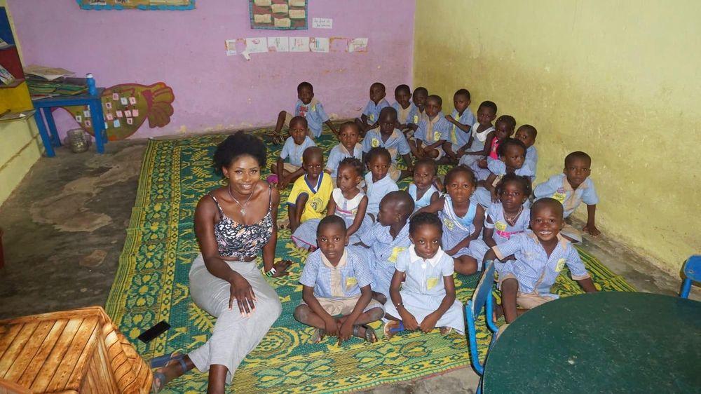 Joyce Appia in der Ecole Labat