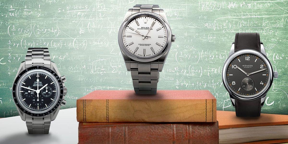 Die Uhren-Empfehlungen für Ladies: Omega Speedmaster Professional, Rolex Oyster, Nomos Glashütte Club Campus
