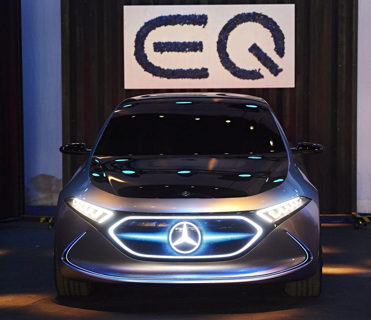 Mercedes-Benz zeigte Elektroauto-Konzepte