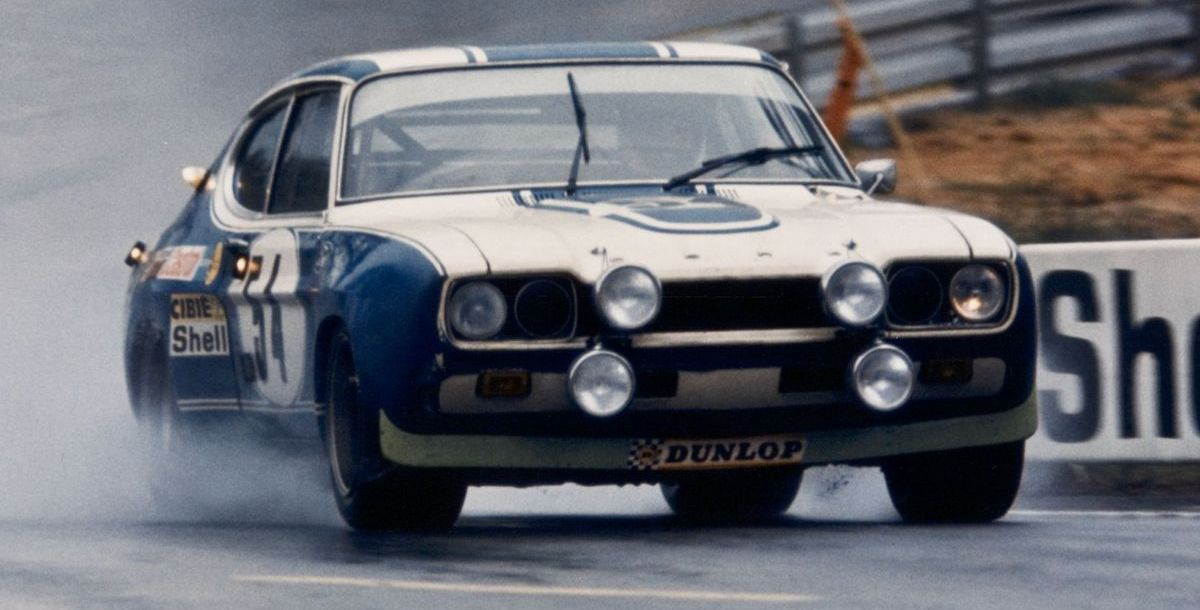 Ford Capri RS in Le Mans (1972)