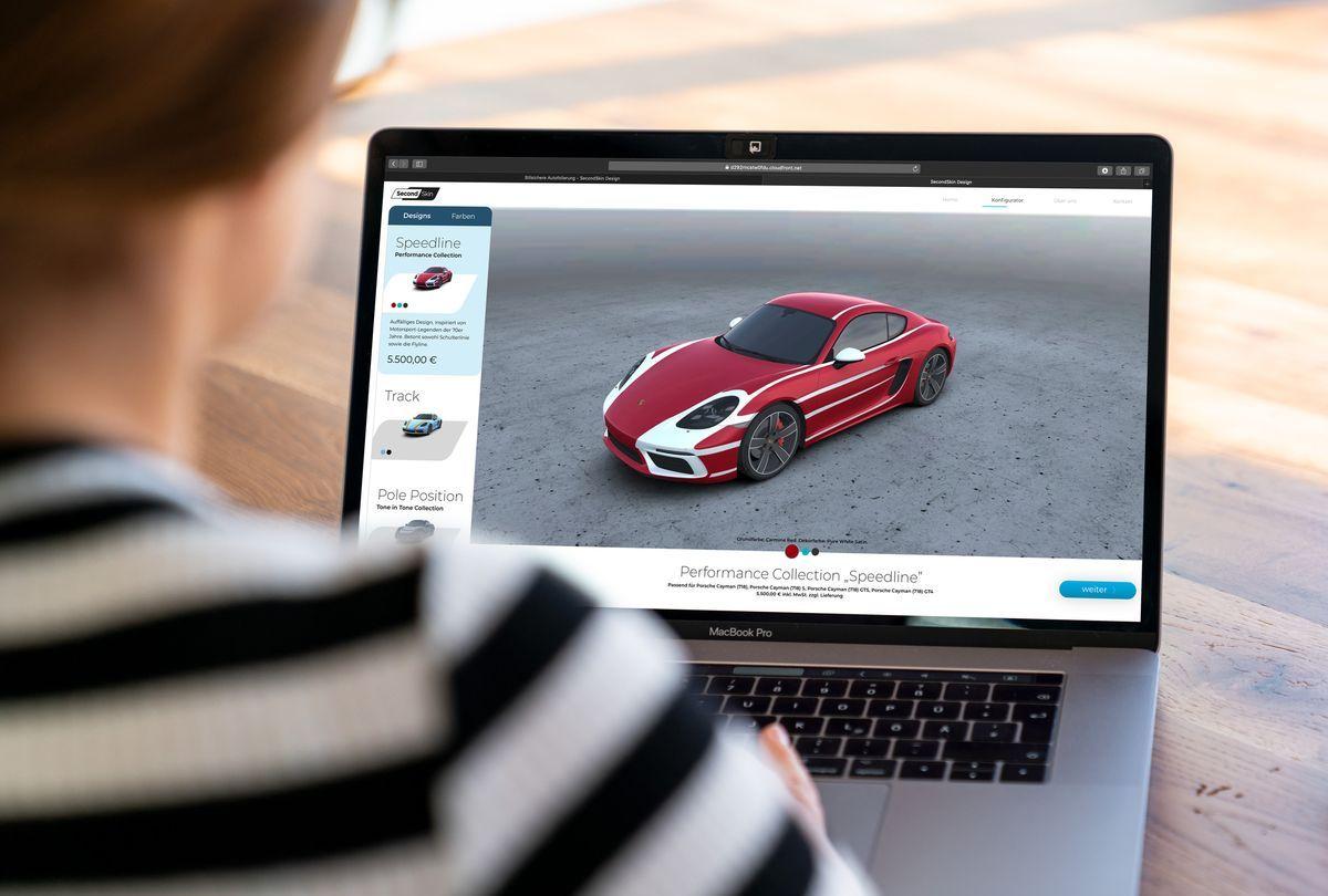 Carwrapper: Folierung von Porsche
