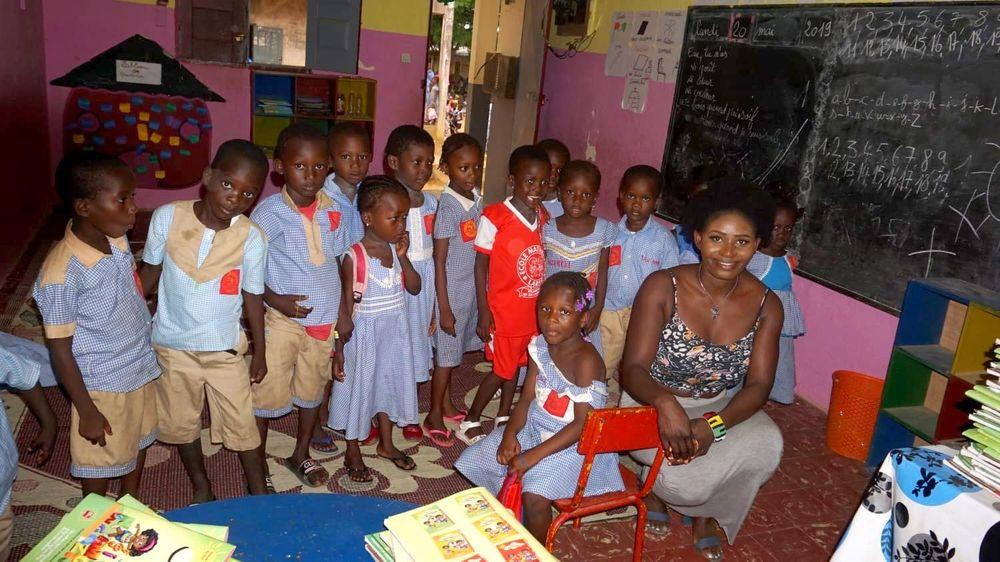 Ecole Labat: Dort kamen die Spenden an