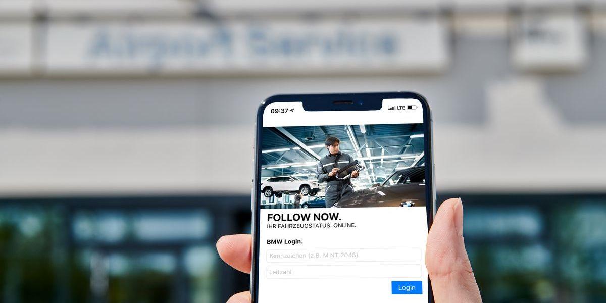 BMW App Follow Now
