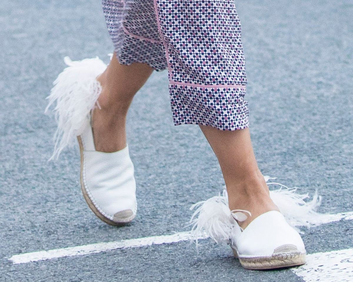 Fransen an Schuhen sind voll angesagt