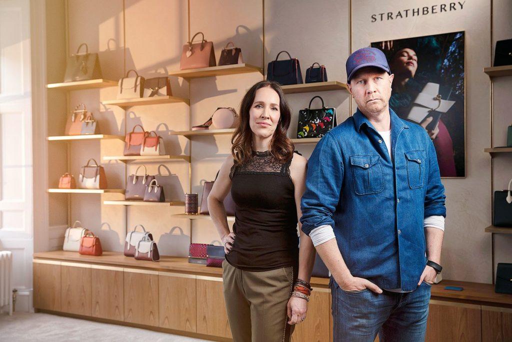 Strathberry Designer Leeanne und Guy Hundleby (Fotos: ddp images)