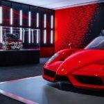 Hypercars im Ferrari-Museum in Maranello