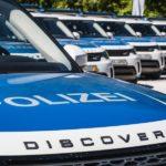 Die Polizei setzt auf den Land Rover Discovery