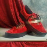 Stylishe Samt-Sneaker: Rockstar-Look für die Füße