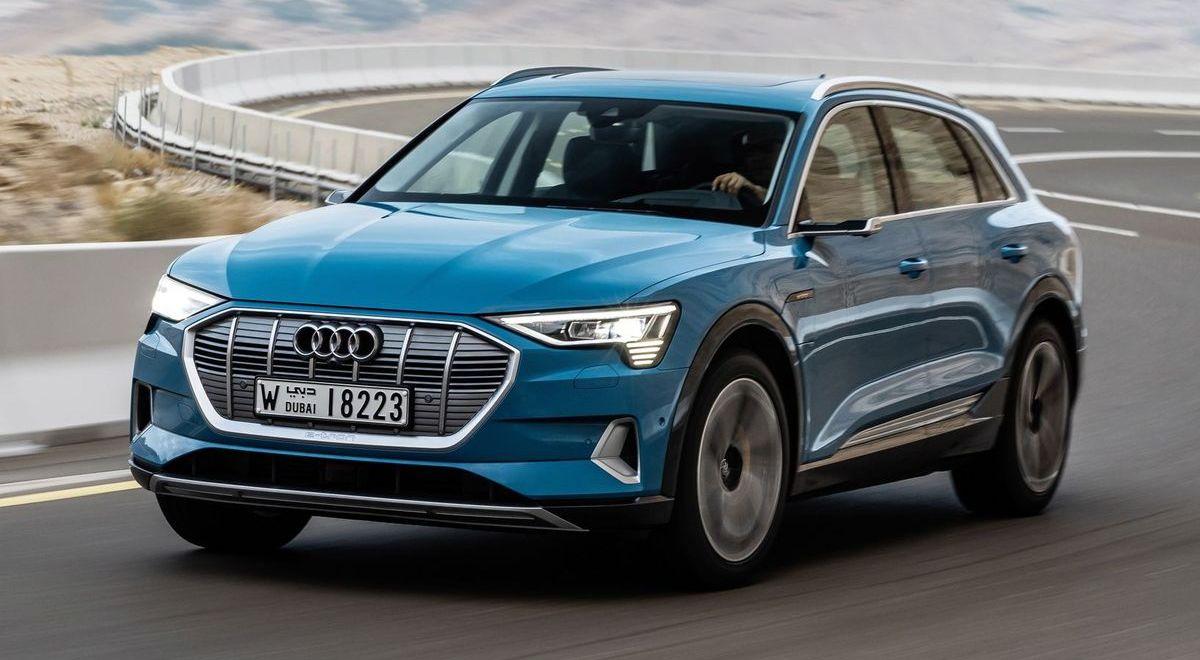 Der Audi E-Tron hat Probleme im Umweltvergleich.