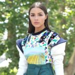 Outfit der Woche: Olivia Culpo ganz spacig in Louis Vuitton