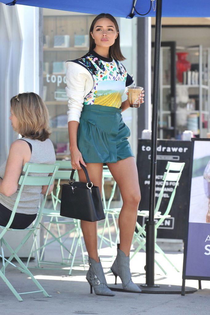 Outfit der Woche: Olivia Culpo im spacigen Louis Vuitton Outfit