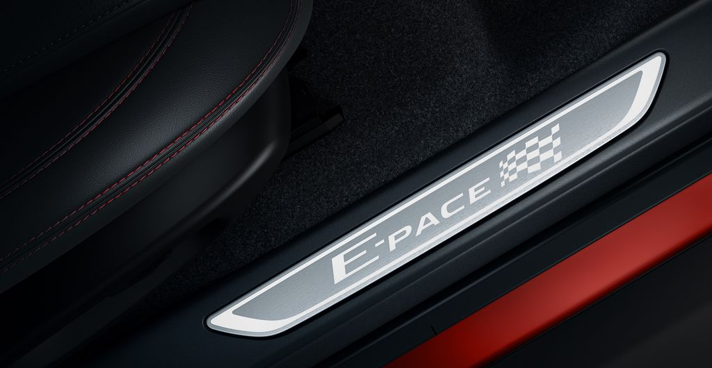 "Jaguar E-Pace ""Chequered Flag"""