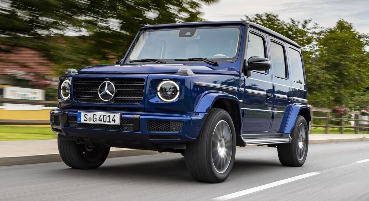 "Mercedes-Benz G 400d ""Stronger than Time"" (2019)"