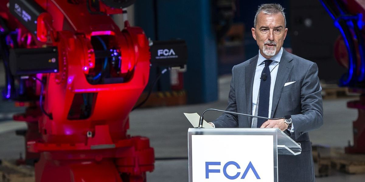 Pietro Gorlier, FCA Chief Operating Officer, EMEA Region