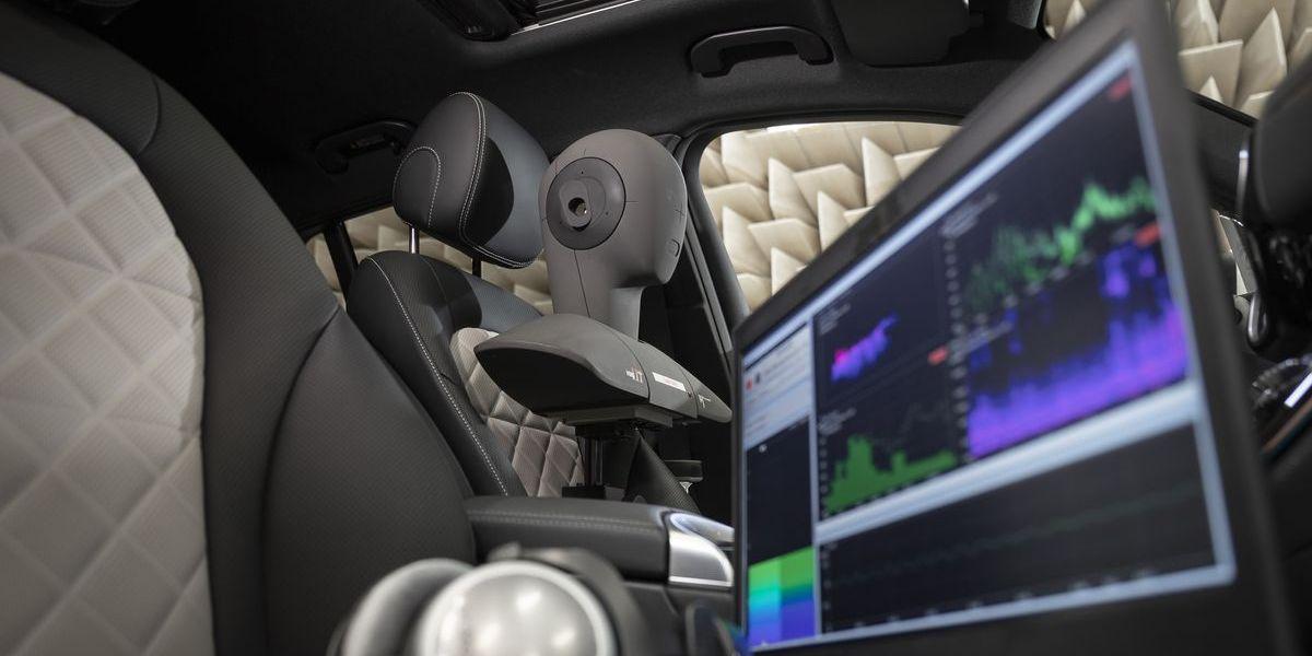 Das Mercedes-Benz Technologie Center (MTC) in Sindelfingen entwickeln für jedes Elektromodell einen individuell abgestimmten E-Sound.