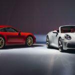 Der neue Porsche 911 fährt auch als Carrera Coupé und Cabrio vor