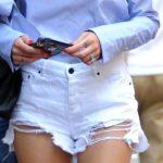Hotpants-Trend: Unten kurz, oben lang