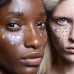 Glitzer und Metallic: Star Spangled Faces