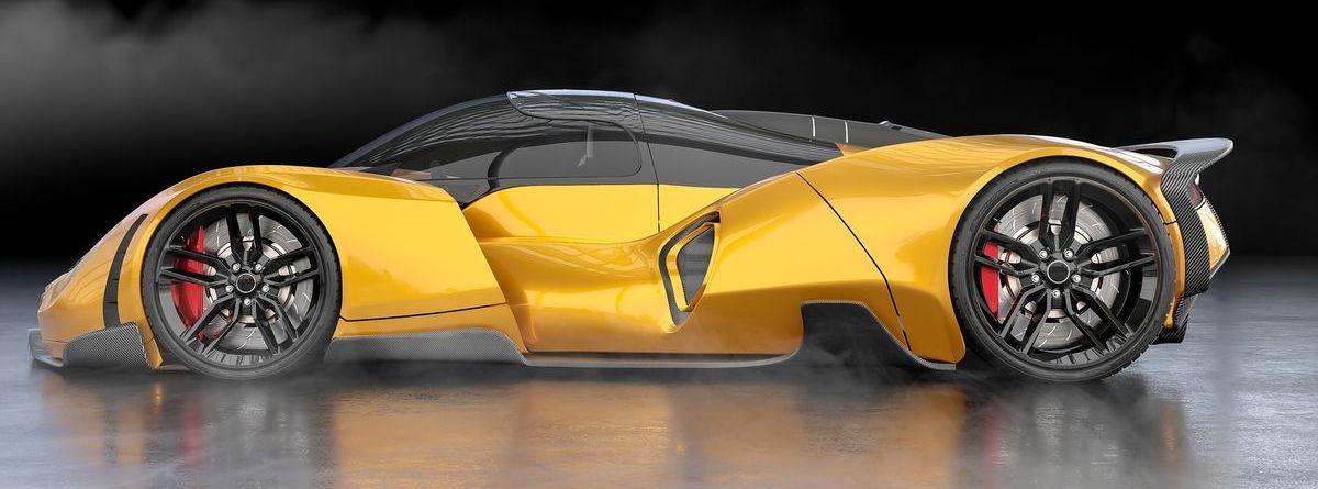 Der hier abgebildete Hyperlight ist eine automobile Zukunftsvision, designt von Lee Rosario.