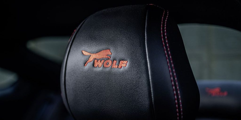 "Wolf Racing Mustang in der Edition ""One of Seven"""