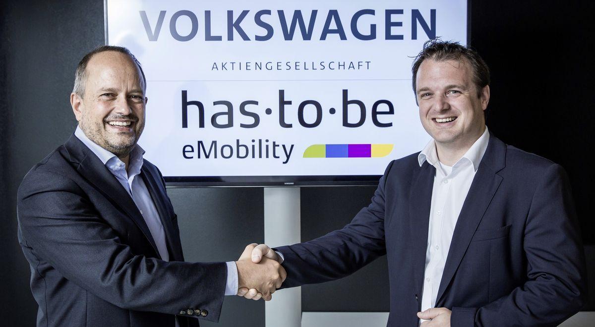 Thorsten Nicklass, CEO Elli (links), und Martin Klässner, CEO von Has-To-Be