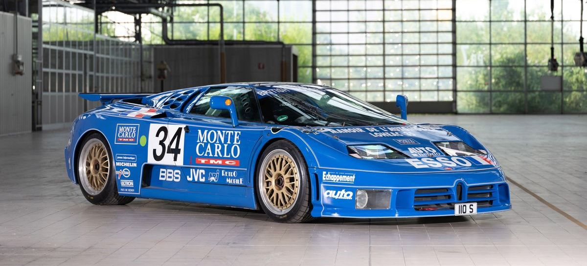 Hier entstand der Bugatti EB110