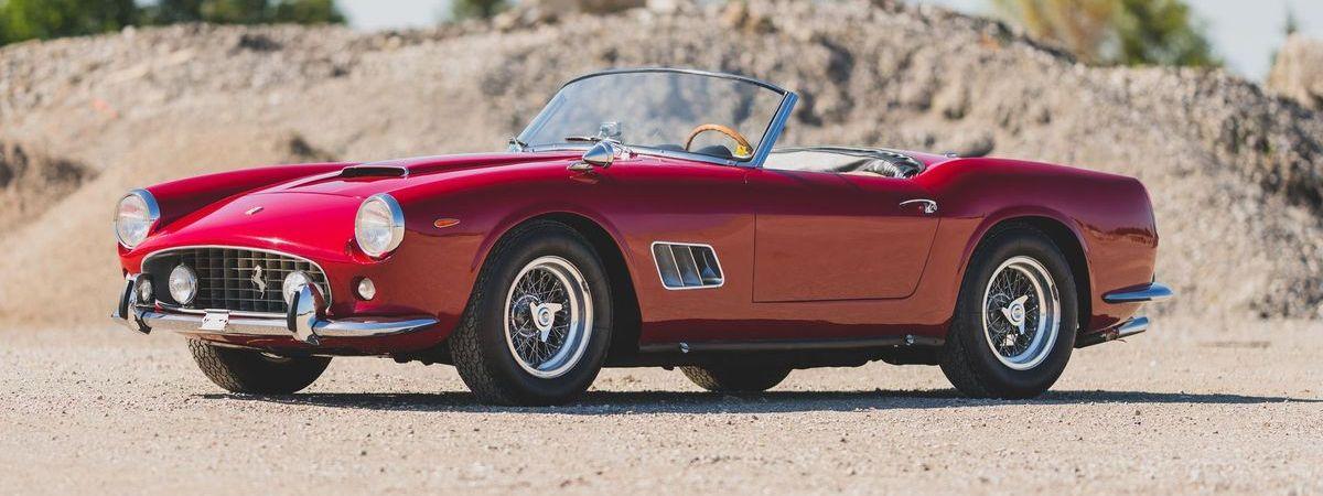 1962er Ferrari 250 GT Coupé mit kurzem Radstand, 7.330.500 Euro