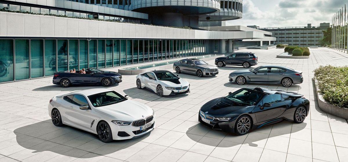 BMW-Produktpalette im Luxussegment