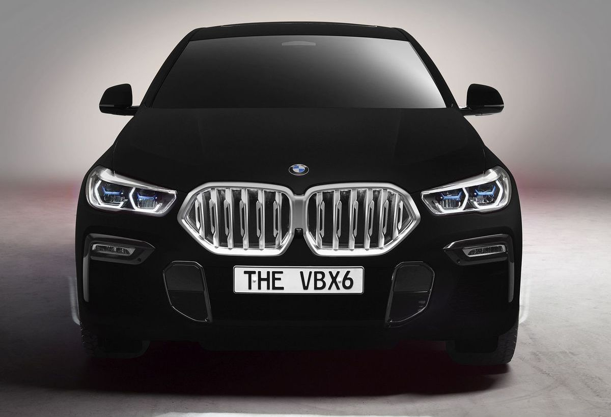"BMW Vantablack X6 - ""The VBX6"""