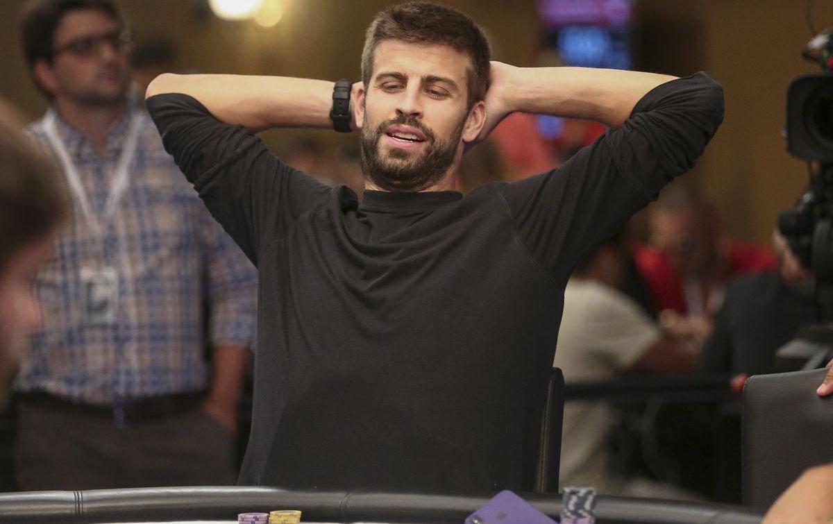 Gerard Piqué ist für seine Pokerleidenschaft bekannt (ddp images)