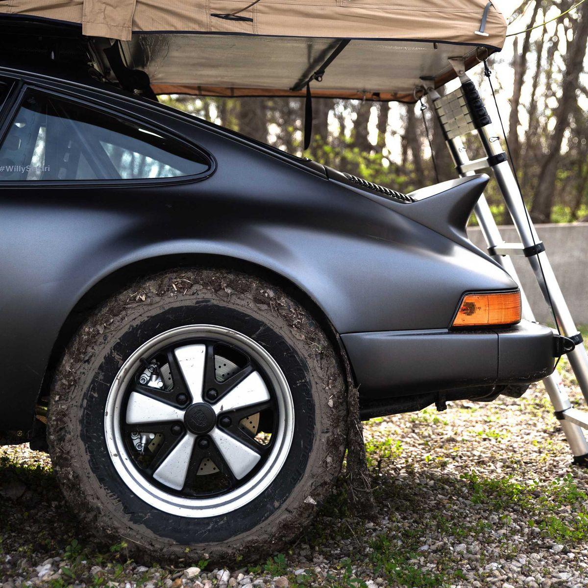 Einzelstück: Porsche 911 als klassischer Safari-Sportwagen (ddp images)