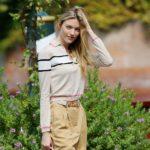Outfit der Woche: Martha Hunt in Alberta Ferretti