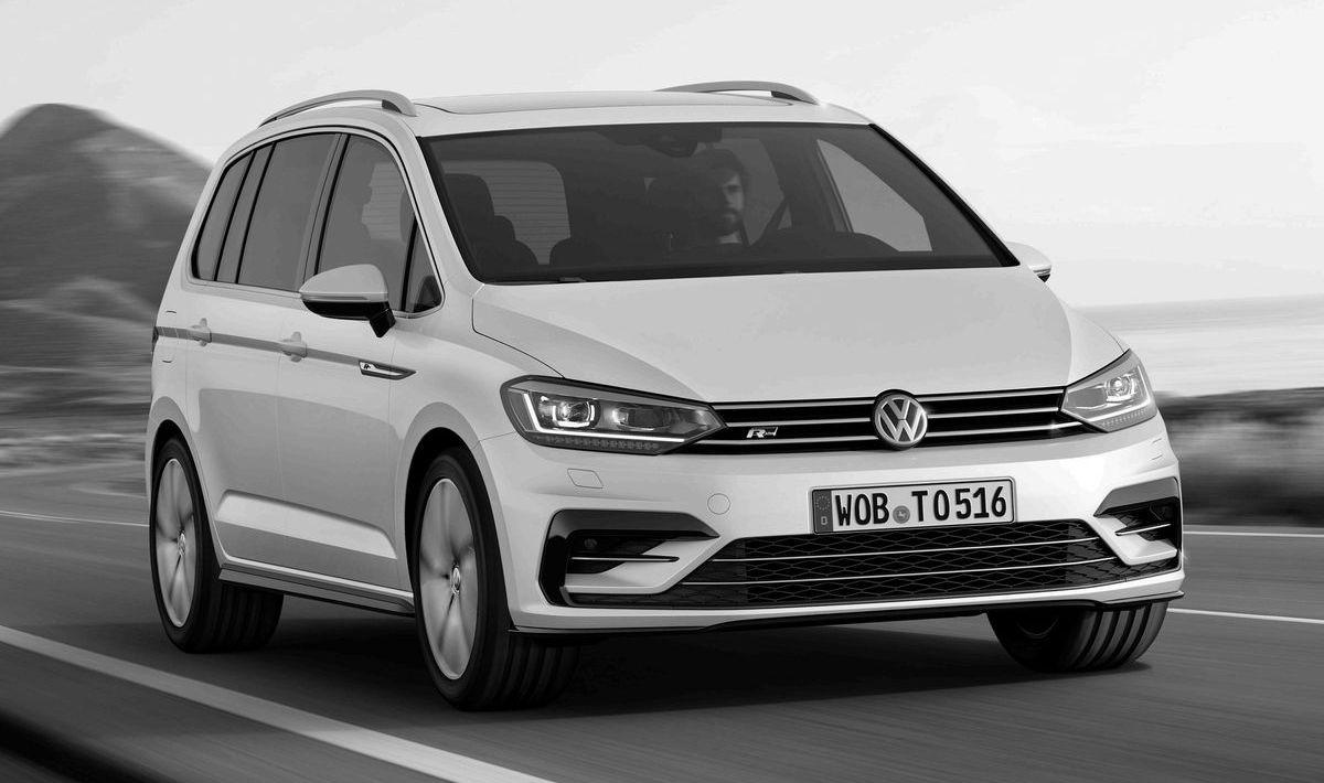 Vans wie der Volkswagen Touran R-Line verlieren in der Käufergunst.