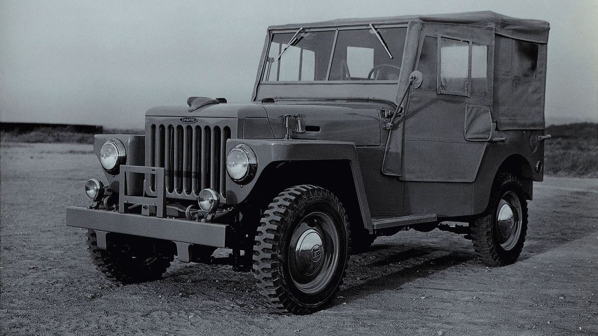 Toyota Land Cruiser BJ (1955)
