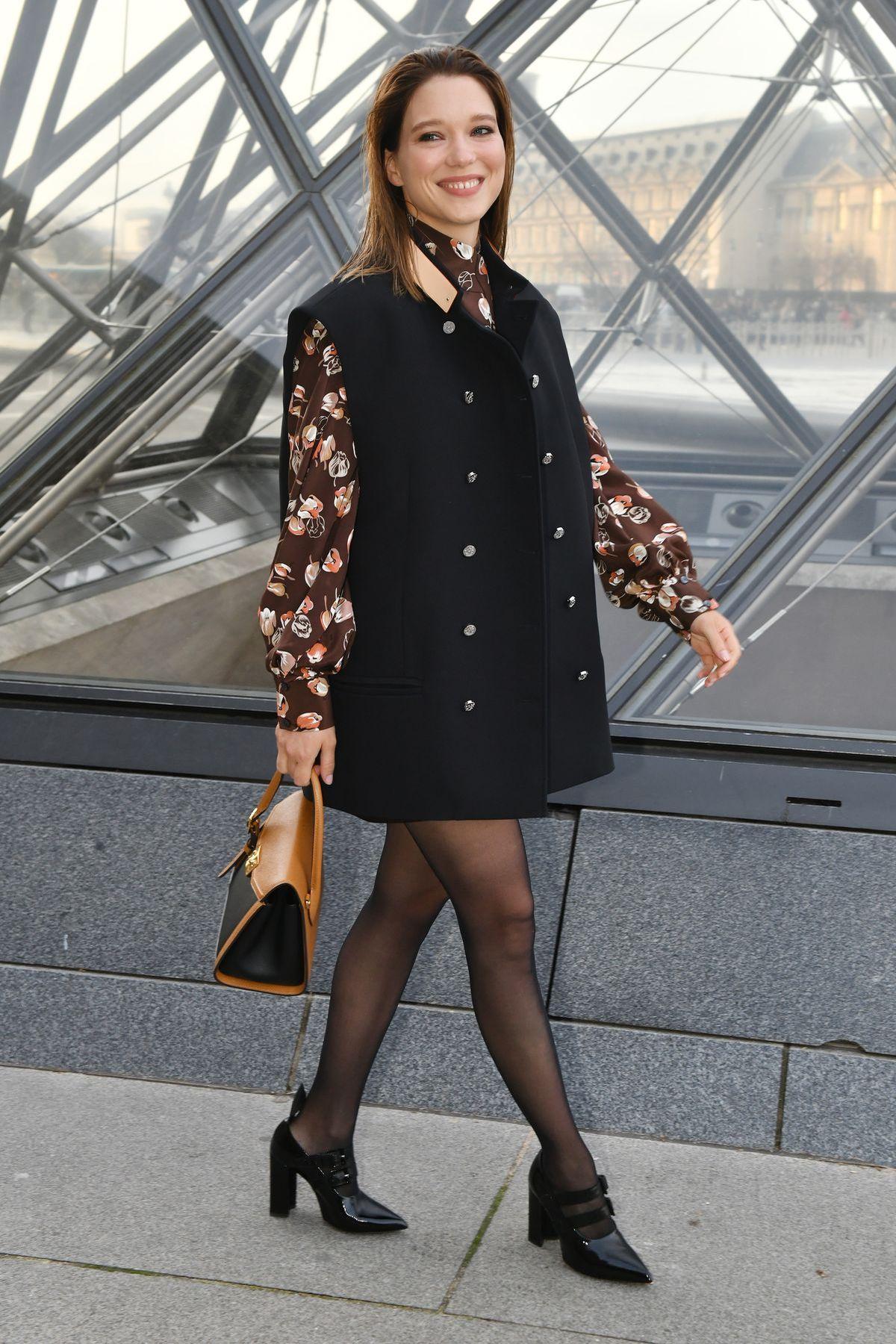 Louis-Vuitton-Look mit Schauspielerin Léa Seydoux