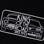 King of the Road: Corvette-Shirt zum Abschied