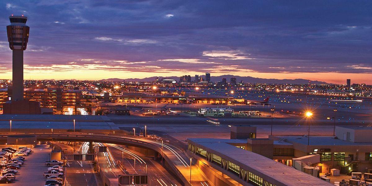 Sky Harbor International Airport in Phoenix