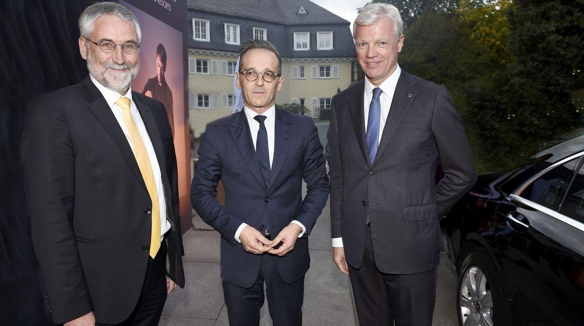 Dr. Christoph Krupp, Heiko Maas und Thomas Willms