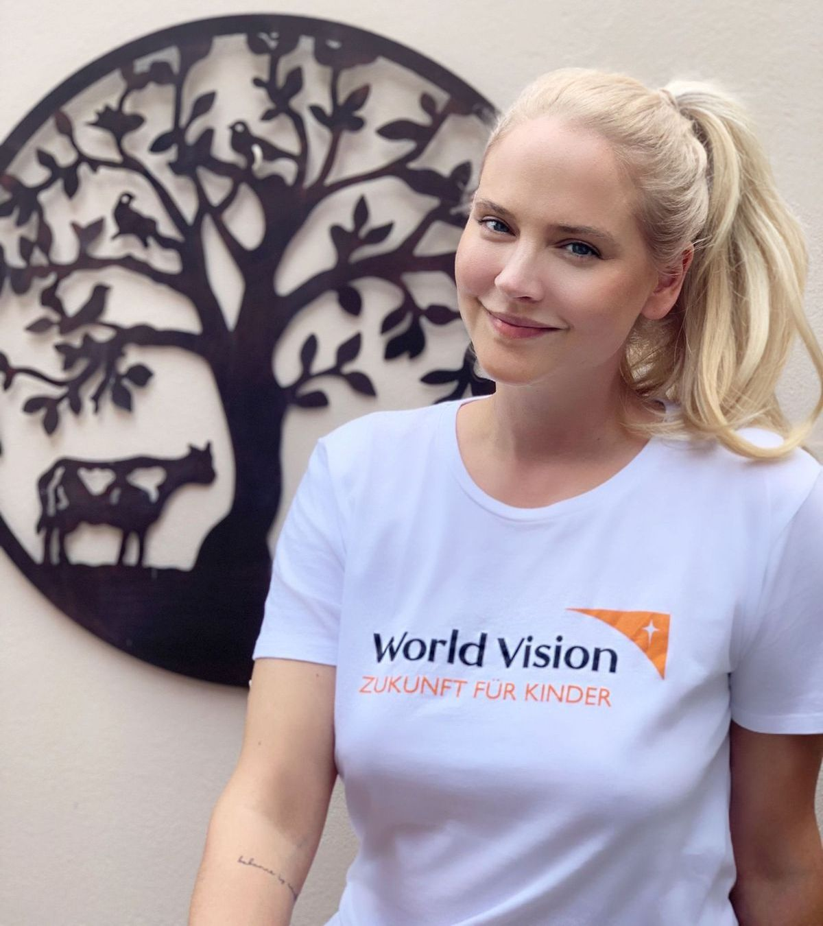 Tiana Pongs für World Vision