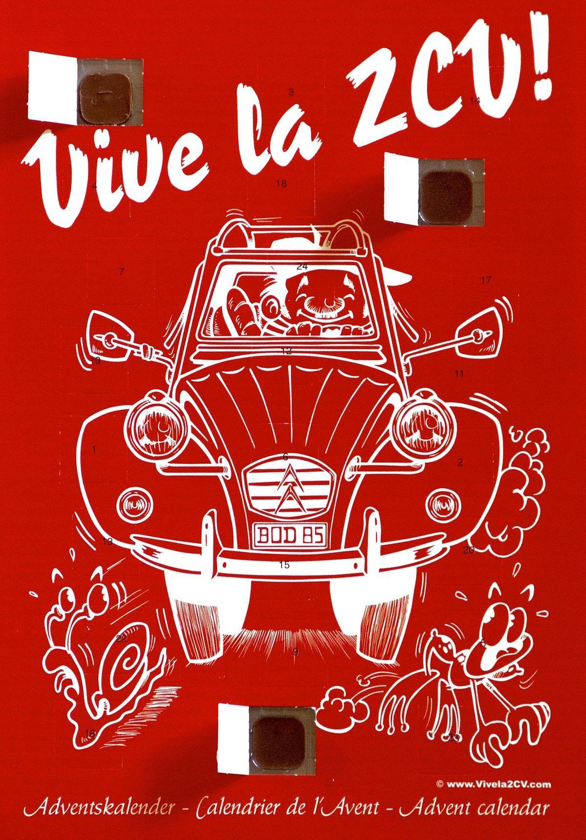 "Adventskalender ""Vive la 2CV"""
