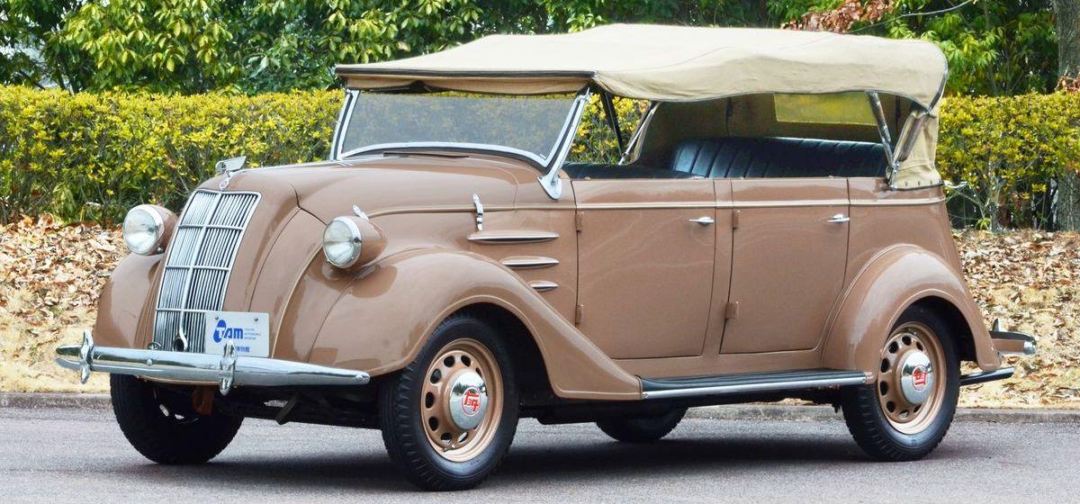 Toyota Model AB Phaeton (1938)