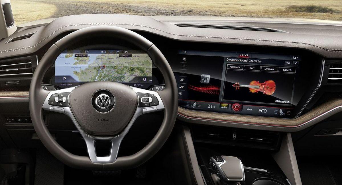 Volkswagen Touareg mit Dynaudio-Soundsystem