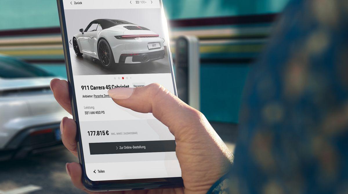 Einen Porsche kann man nun auch online kaufen