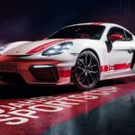 Der Porsche 718 Cayman in der exklusiven GT4 Sports Cup Edition