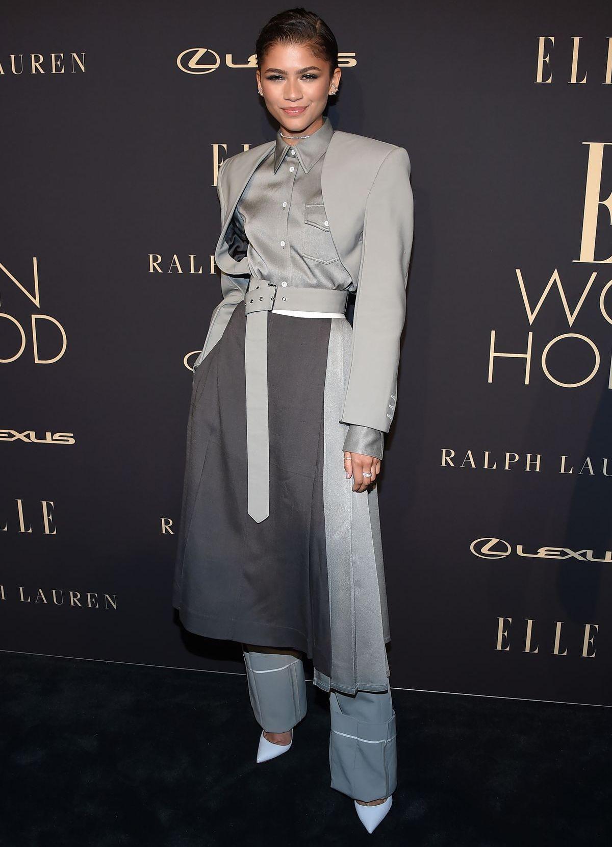 Outfit der Woche: Zendaya Coleman in... ...Grau