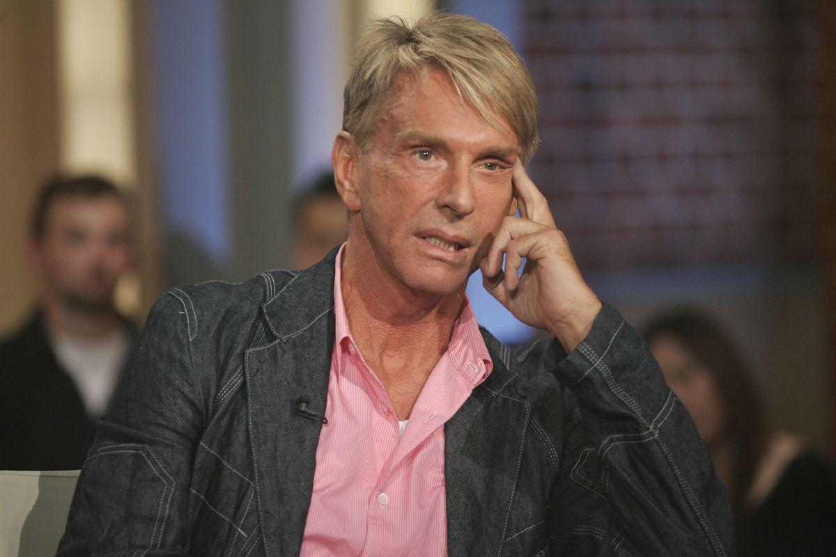 2008: Wolfgang Joop zu Gast in der ARD - Talkshow Beckmann (ddp images).